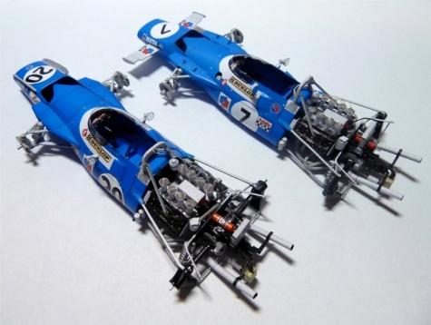 Matra MS80 J.Stewart - 2verze - GP Italy ´69/ GP Spain ´69