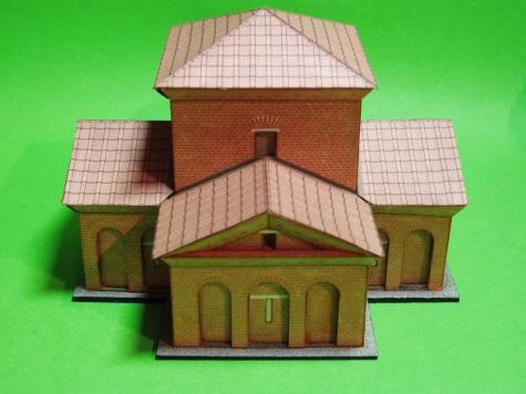 Mauzoleum Gally Placidie 24-hodinovka + dokončení