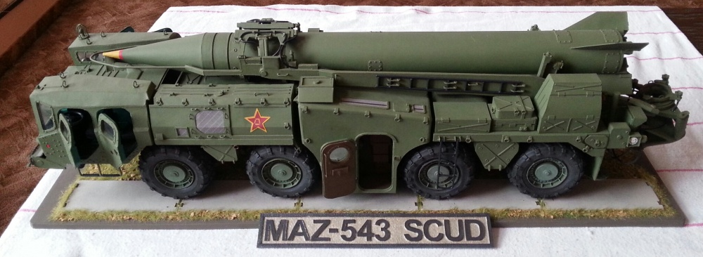 MAZ 543 ss1c SCUD B  CHINESE ARMY