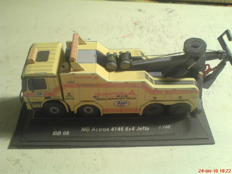 MB Actros 4146 8x4 Jefta