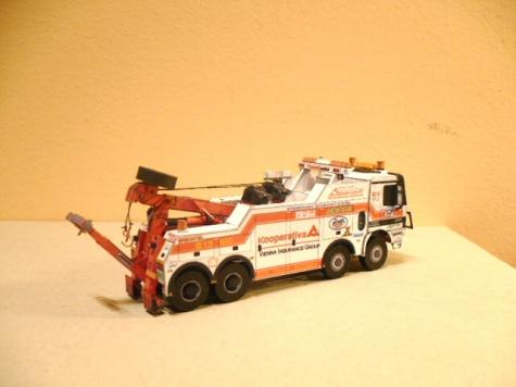 MB Actros 4153 8x8 Jefta