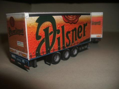 MB Actros Pilsner - tandem