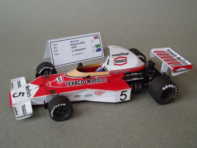 McLaren M23 (1974; Fittipaldi)