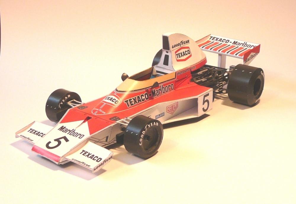McLaren M23, 1974 E. Fittipaldi