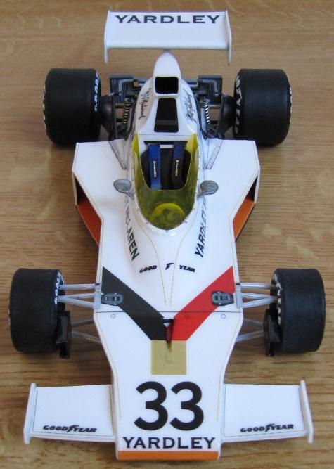 McLaren M23, Mike Hailwood, 1974