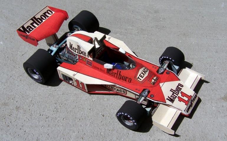 McLaren M23 James Hunt 1976