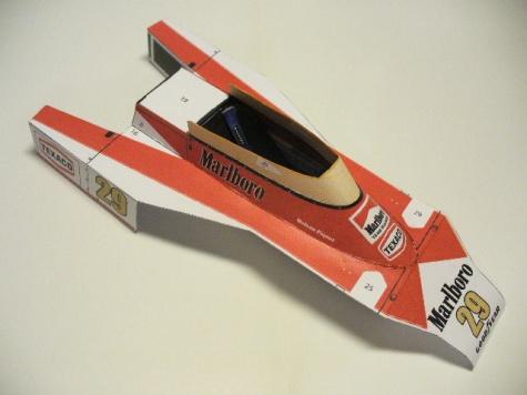 McLaren M23 Piquet GP Holland 78