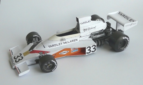 McLaren M23 YARDLEY, 1974