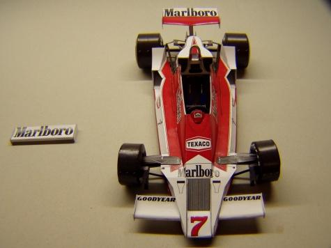McLaren M26, 1978, GP Španělska, J. Hunt