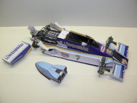 McLaren M26, 1978, Löwenbräu, J. Hunt