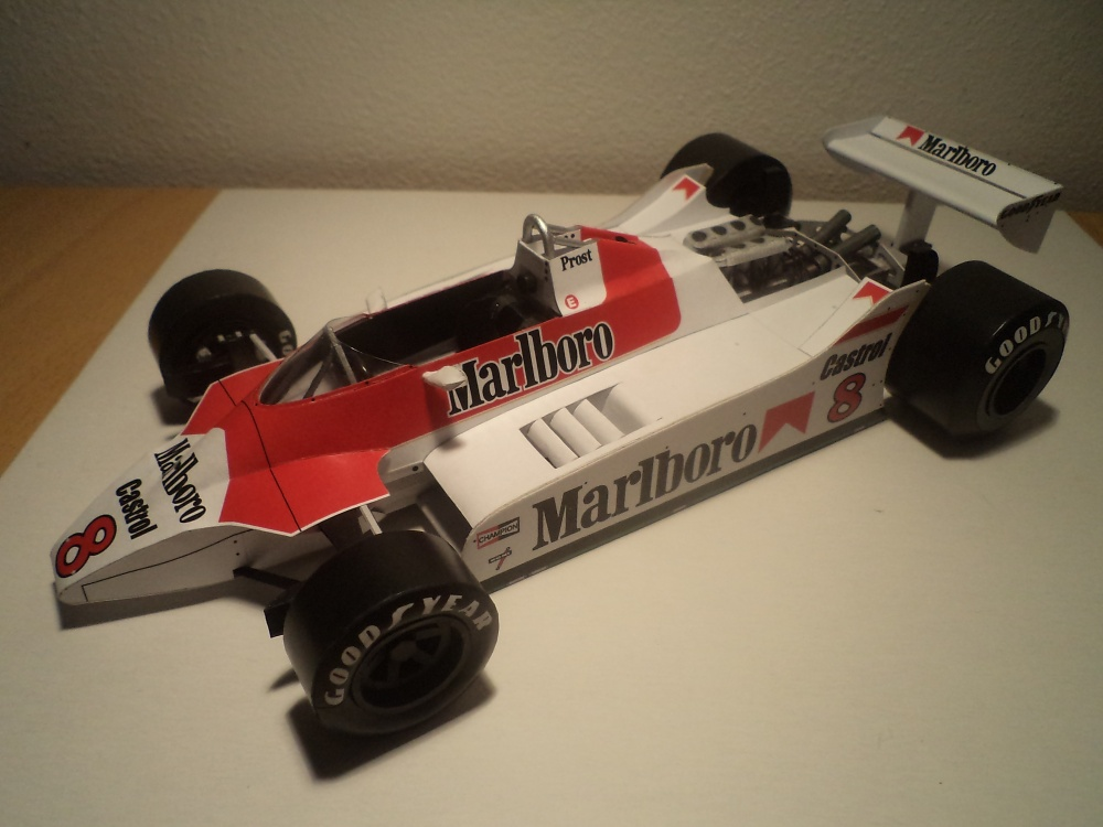 McLaren M30, 1980, A. Prost, GP Holandska