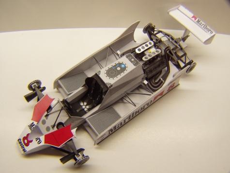 McLaren M30, 1980, A. Prost, GP Itálie
