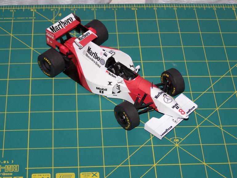 McLaren MP 4 10 ,Häkkinen ,San Marino 95