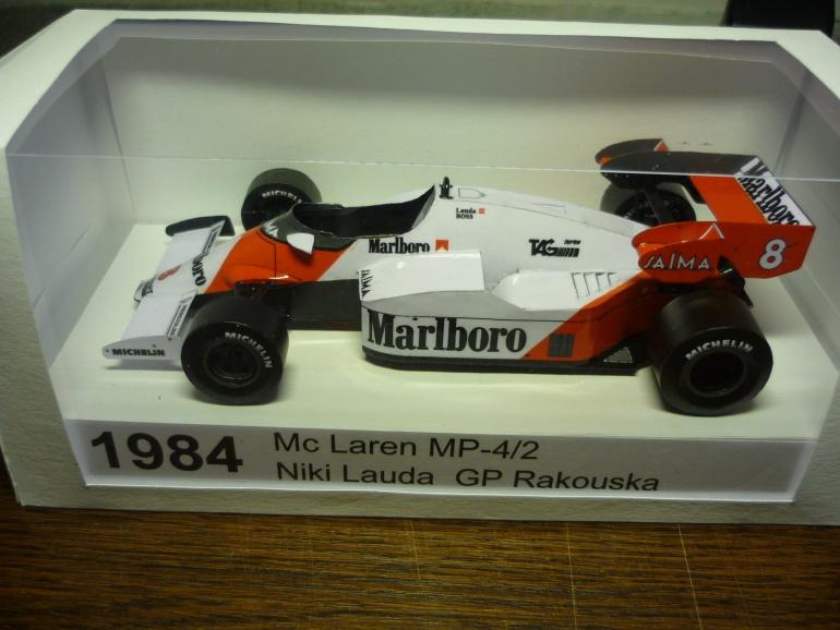 McLaren MP 4-2 / Lauda