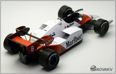 McLaren MP 4/2, Niki Lauda, 1984 - beta
