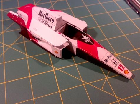 McLaren MP 4-4, A.Prost 1988