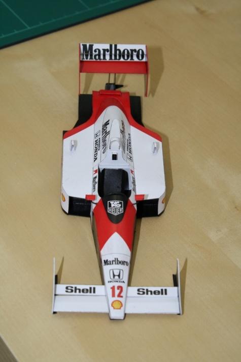 McLaren MP 4/4, Ayrton Senna