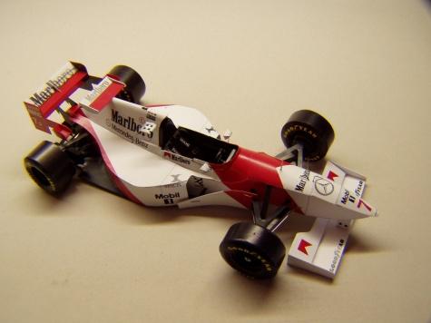 McLaren MP4/10, 1995, M. Blundell