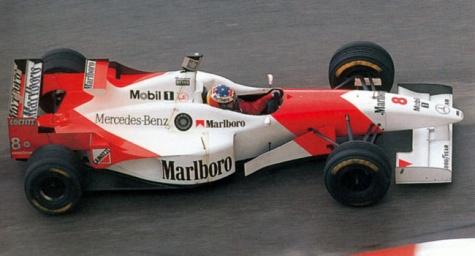 McLaren MP4/11 GP MONACO 1996