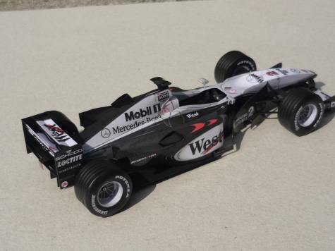 McLaren MP4/15 - David Coulthard - 2000