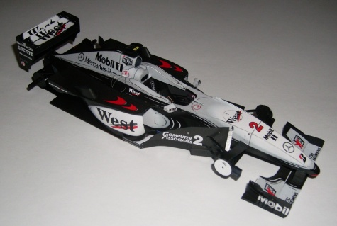 McLaren MP4/15, David Coulthard