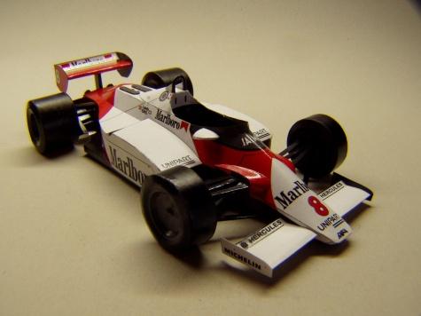 McLaren MP4/1C, 1983, N. Lauda