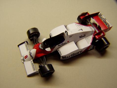 McLaren MP4/2, 1984, N. Lauda