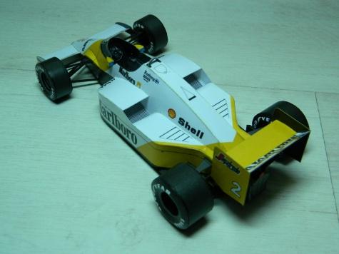 McLAREN MP4-2C PORTUGAL GP 1986 Keke Rosberg
