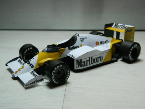 McLAREN MP4-2C PORTUGAL GP 1986 Keke Rosberg