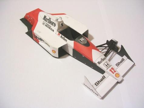 McLaren MP4/4, 1988 Ayrton Senna