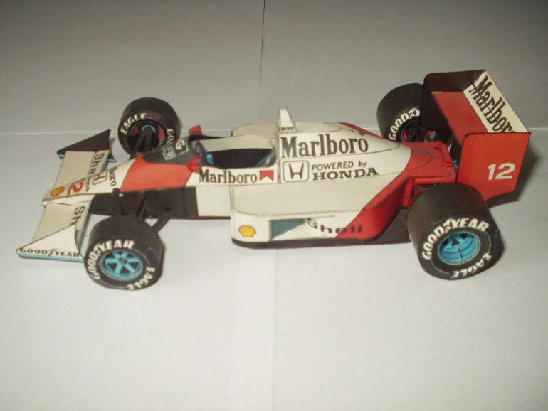 McLaren MP4 4 Honda