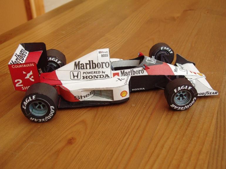 McLaren MP4/5, 1989 Alain Prost