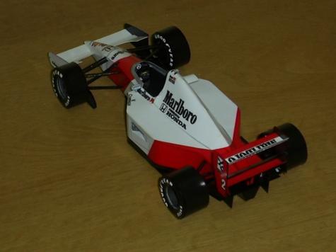 McLaren MP4-7A  G.Berger 1992