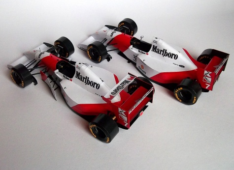 McLaren MP4/8 - Donington Park, Hungaroring, Adelaide 1993