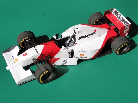 McLaren MP4/8, European GP, Donington Park 1993