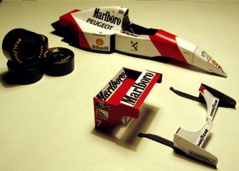 McLaren MP4/9 - Monaco 1994 - Mika Hakkinen