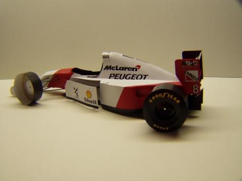 McLaren MP4/9, 1994, M. Brundle