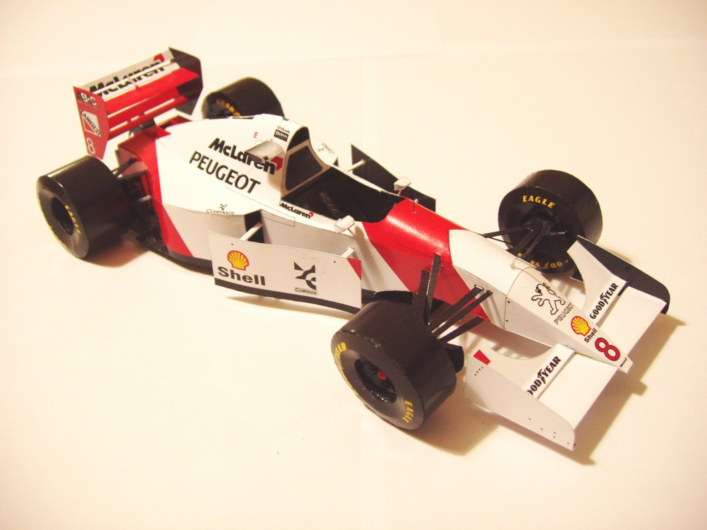 McLaren MP4/9, 1994 Martin Brundle
