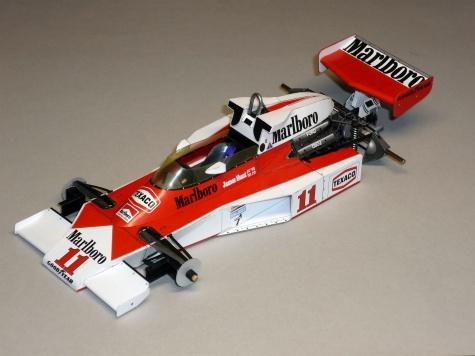 McLaren M23 - James Hunt - 1976