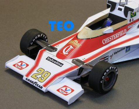 McLaren M23 N.Piquet