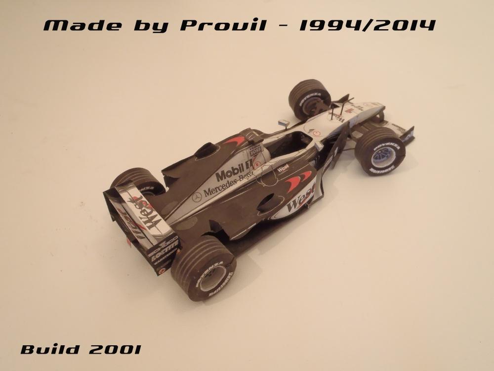 McLaren MP 4/15 - (1) Mika Häkkinen