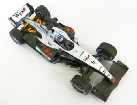 McLaren MP4/19, Kimi Raikkonen, GP Monaco 2004