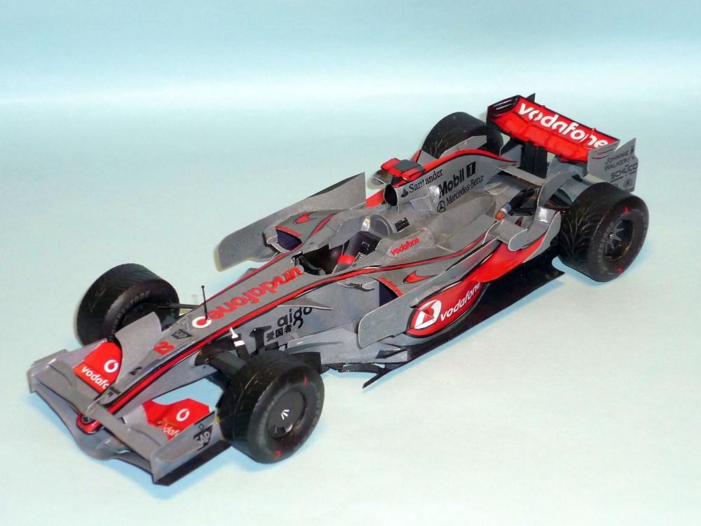 McLaren MP 4/23 - Lewis Hamilton - GP Brazilie 2008