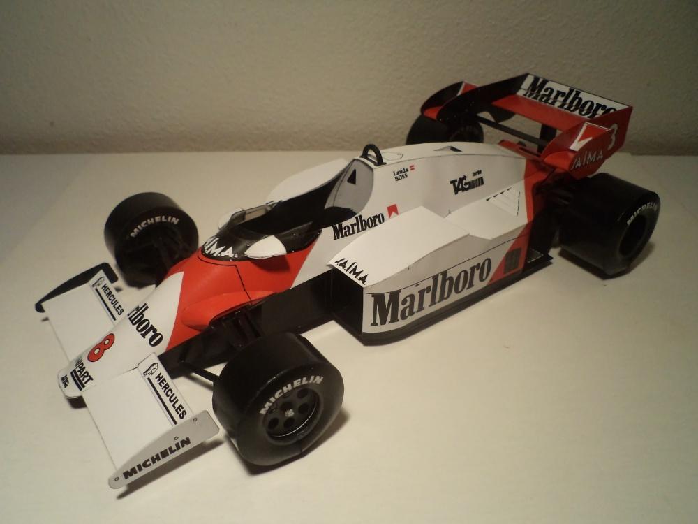 McLaren MP4/2, N. Lauda, GP Austria 1984