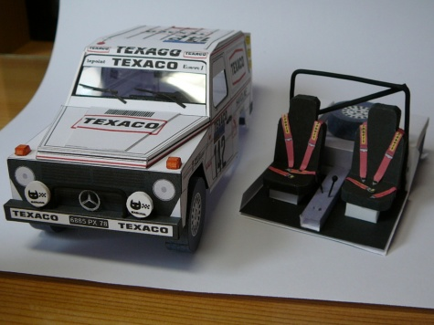 Mercedes 280 GE Dakar 1983 by Rybak
