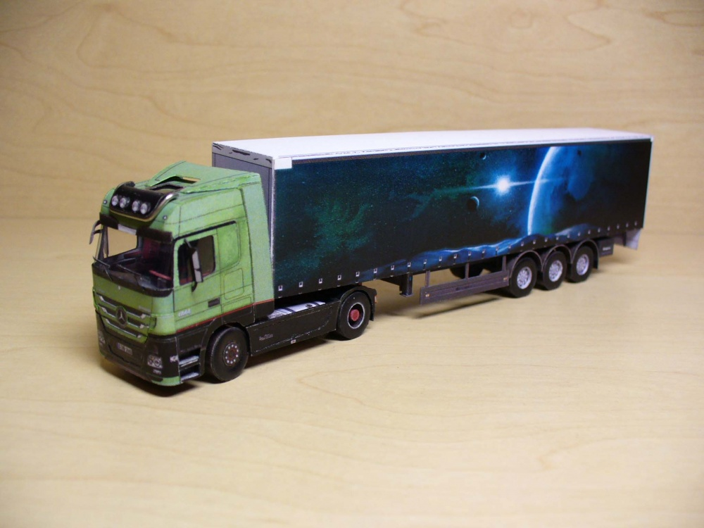 Mercedes Benz Actros 1860 4x2 Trust Edition/1:100 (Kinza)