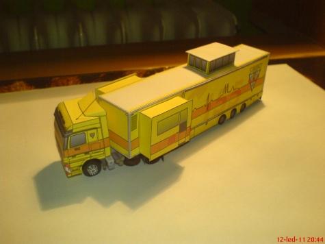 Mercedes Benz Actros-Záchranářský  kamion