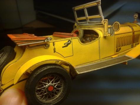 Mercedes-Benz typ S a Stutz Bearcat (rok výroby 1914)
