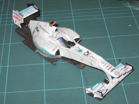 Mercedes GP W02 (2011)
