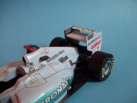Mercedes GP W02 - Michael Schumacher (2011)